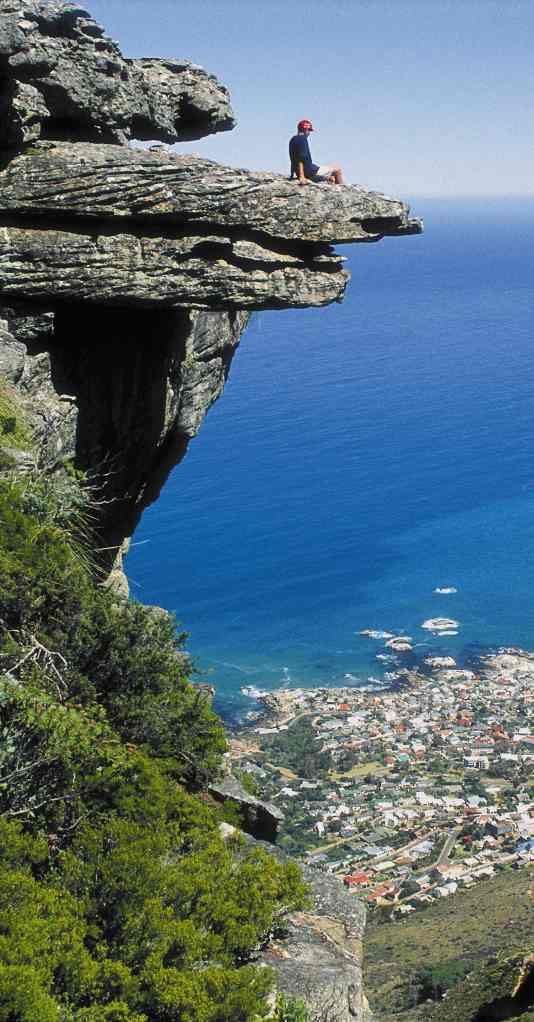 Cape Town Rocky Outcrop - View Point