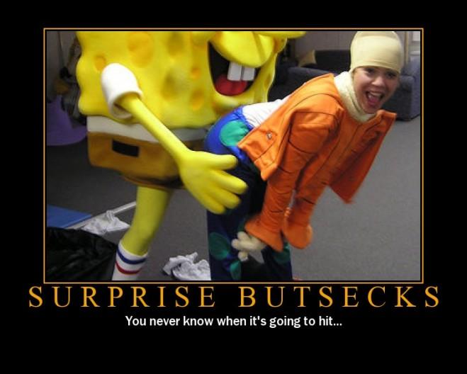 Spongebob - Surprise Buttsex